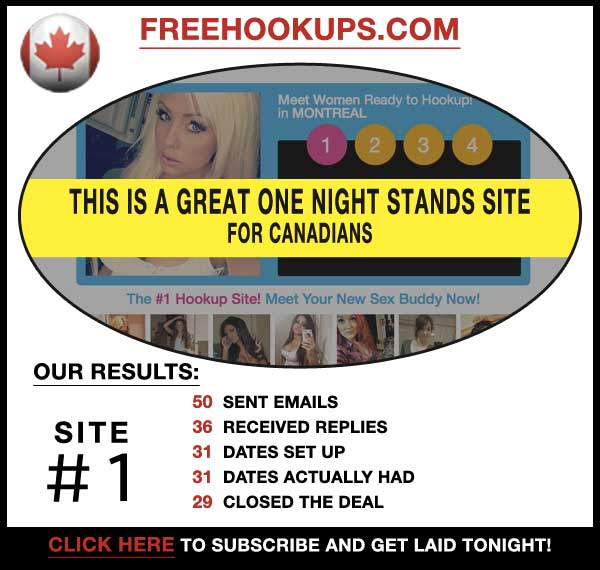 Homepage of FreeHookups.com