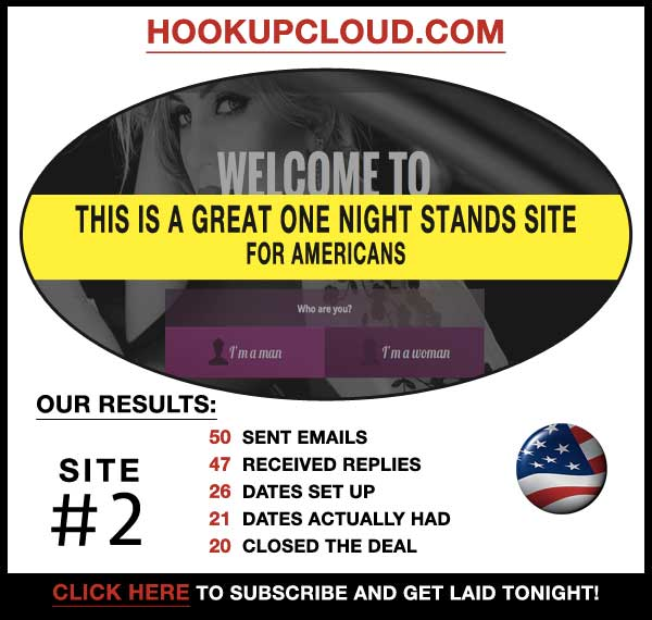 Homepage of HookupCloud.com