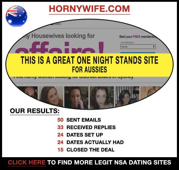 Homepage of HornyWife.com