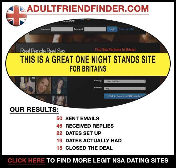 Homepage of AdultFriendFinder.com