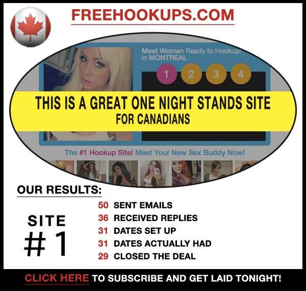 Homepage of FreeHookups.com