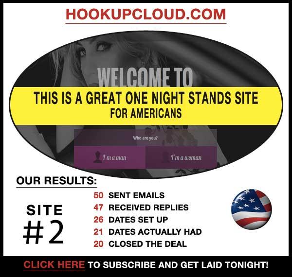 Homepage of HookupCloud.com