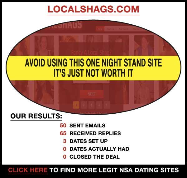 Homepage of LocalShags.com
